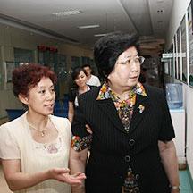 山西太原白癜风医院-王家璧来我院指导