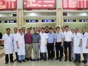 重庆协和医院数位泰斗级泌尿男科专家莅临重庆协和医院参观交流